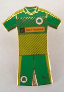 Green kit badge